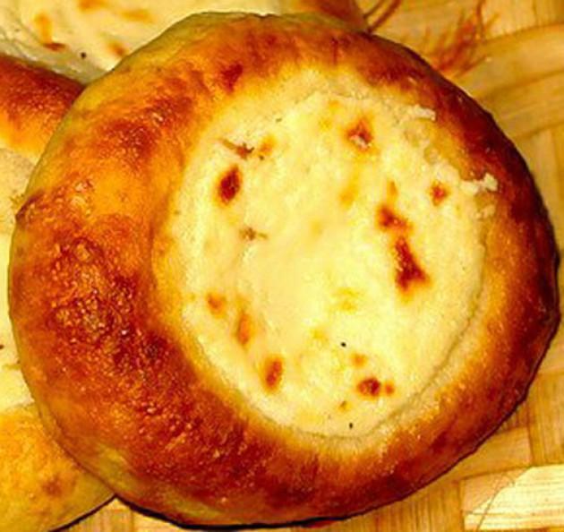 Ватрушка с картошкой рецепт пошагово в духовке