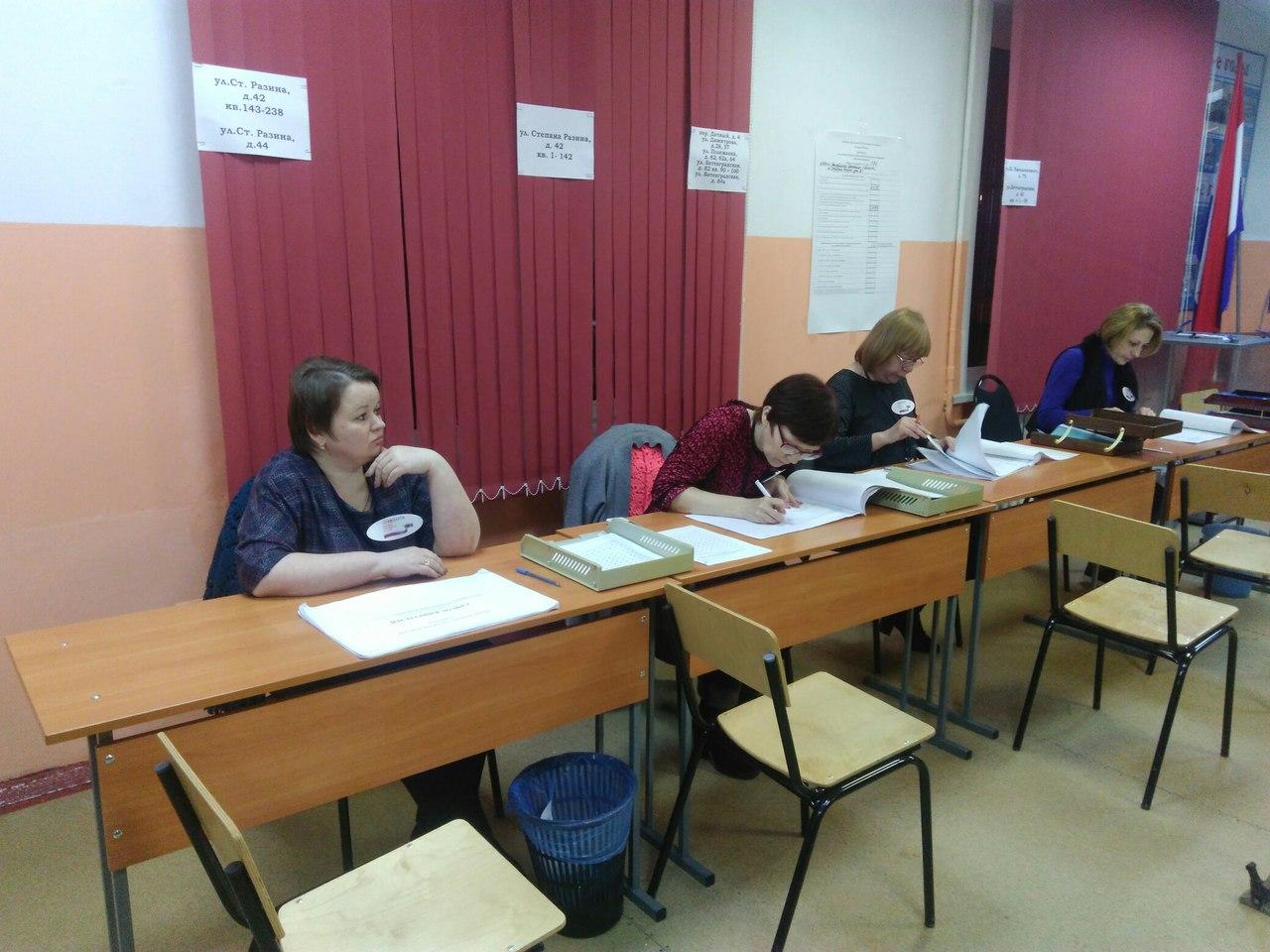 Участки республики закрыты, идет подсчет голосов избирателей